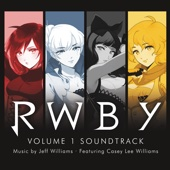 RWBY, Vol. 1 Soundtrack - Jeff Williams Cover Art