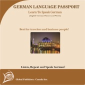 Learn to Speak German: English-German Phrase and Word Audio Book