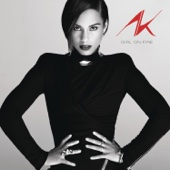 Girl On Fire - Alicia Keys Cover Art