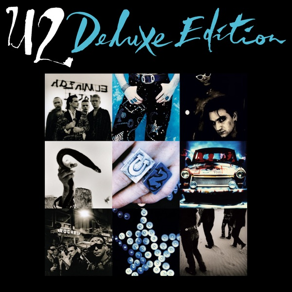 Achtung Baby Deluxe Edition U2 CD cover