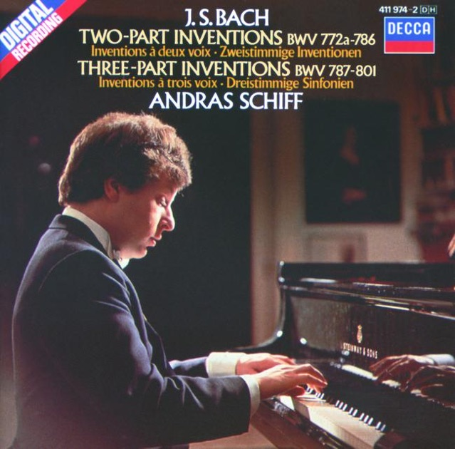 András Schiff - Bach Recital