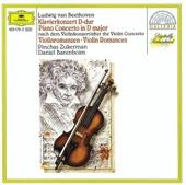 Beethoven: Piano Concerto (after the Violin Concerto) & Violin Romances