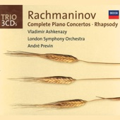 Rachmaninov: Complete Piano Concertos - Rhapsody on a Theme of Paganini