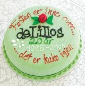 Festen er ikke over ... det er kake igjen: 1985-2005