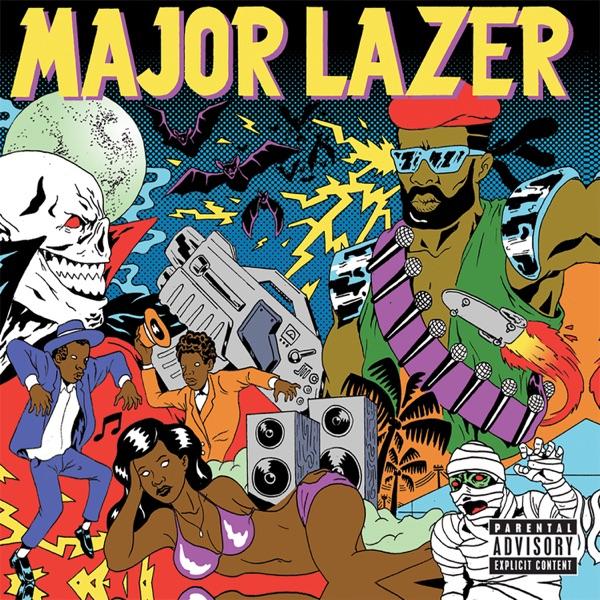 Guns Dont Kill PeopleLazers Do Bonus Track Version Major Lazer CD cover