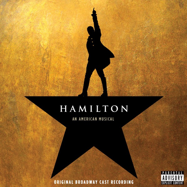 Hamilton Original Broadway Cast Recording Original Broadway Cast of Hamilton CD cover