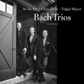 Yo-Yo Ma, Chris Thile & Edgar Meyer - Bach Trios  artwork