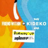 Friend Within & Kideko - Burnin' Up artwork