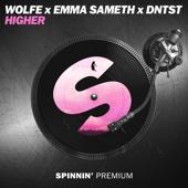 WOLFE, Emma Sameth & Dntst - Higher artwork