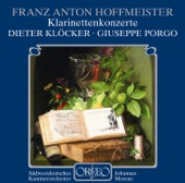 Hoffmeister: Clarinet Concerto in B-Flat Major & Sinfonia Concertante in E-Flat Major