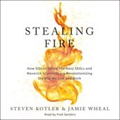 Stealing Fire: How Silicon Valley, the Navy SEALs, and Maverick Scientists Are Revolutionizing the Way We Live and Work (Unabridged) - Steven Kotler & Jamie Wheal Cover Art