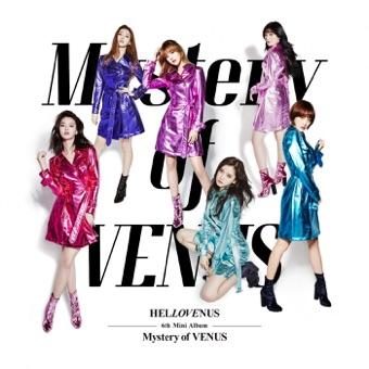 HELLOVENUS 6th Mini Album Mystery of VENUS – EP – HELLOVENUS