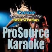 Caruso (Originally Performed By Josh Groban) [Instrumental]