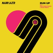 Major Lazer - Run Up (feat. PARTYNEXTDOOR & Nicki Minaj) kunstwerk
