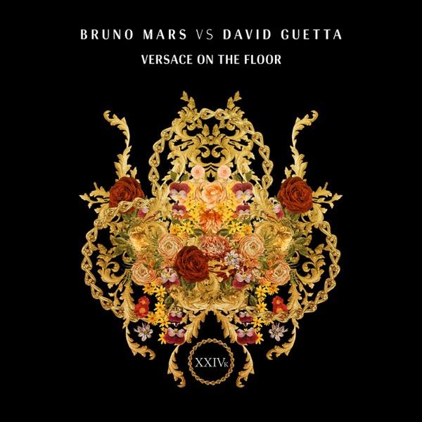 Versace On The Floor Bruno Mars vs David Guetta - Single Bruno Mars  David Guetta CD cover