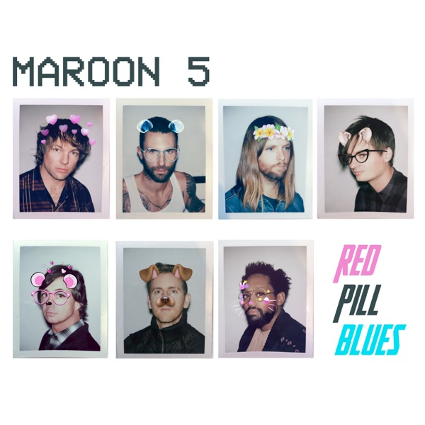 Red Pill Blues Deluxe Maroon 5 CD cover
