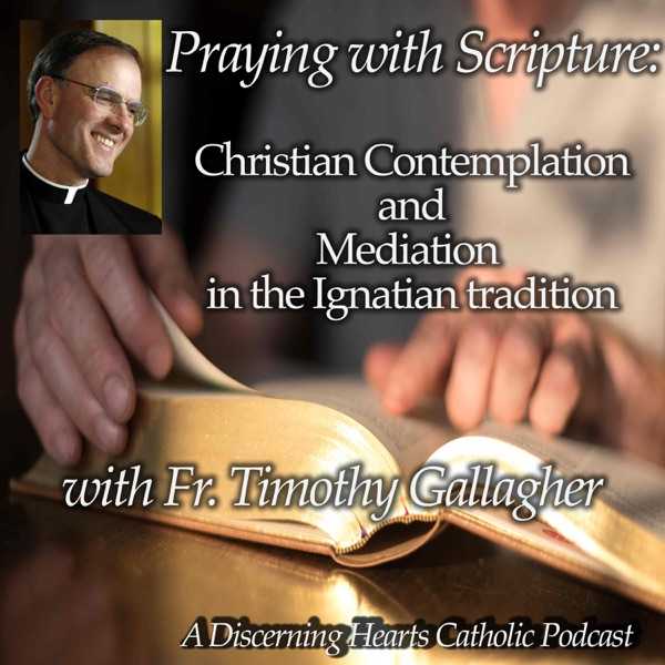 Praying with Scripture: Christian Contemplation and Meditation in the Ignation Tradition with Fr. Timothy Gallagher - Discerning Hearts Catholic Podcast