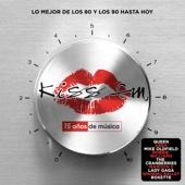 Varios Artistas - Kiss FM - 15 Años De Música (Lo Mejor De Los 80 Y Los 90 Hasta Hoy) portada