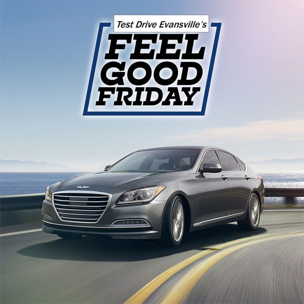 "Test Drive Evansville's ""Feel Good Friday"" podcast"