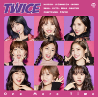 TWICE - One More Time - EP artwork