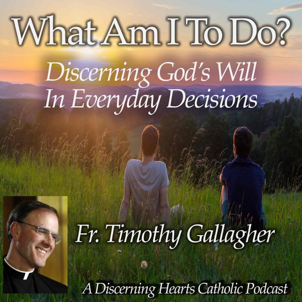 """What am I to do?"" - Discerning the Will of God in Everyday Decisions with Fr. Timothy Gallagher - Discerning Hearts Catholic Podcasts"