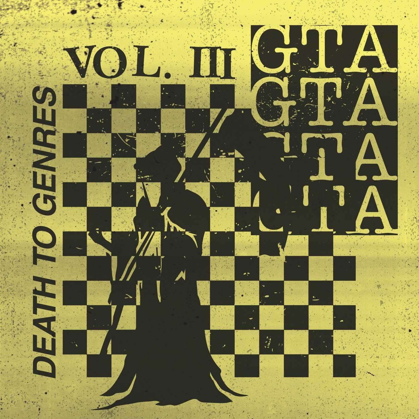 GTA - Death To Genres - EP Cover