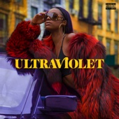 Justine Skye - ULTRAVIOLET  artwork