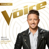 Billy Gilman - Because of Me (The Voice Performance) artwork