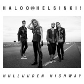 Haloo Helsinki! - Hulluuden Highway artwork