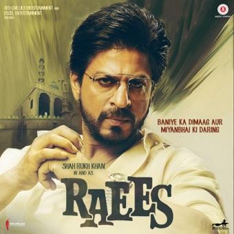 Raees (Original Motion Picture Soundtrack) – Ram Sampath, JAM8 & Kalyanji – Anandji