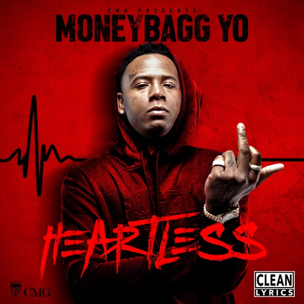 Heartless Moneybagg Yo CD cover