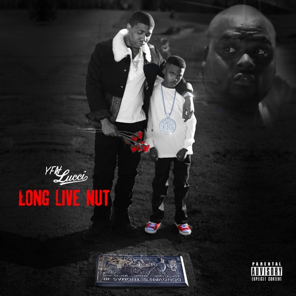 Long Live Nut YFN Lucci CD cover