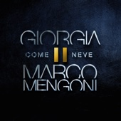 Giorgia & Marco Mengoni - Come neve artwork