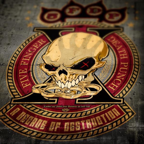 A Decade of Destruction Five Finger Death Punch CD cover