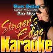 New Rules (Originally Performed By Dua Lipa) [Instrumental]
