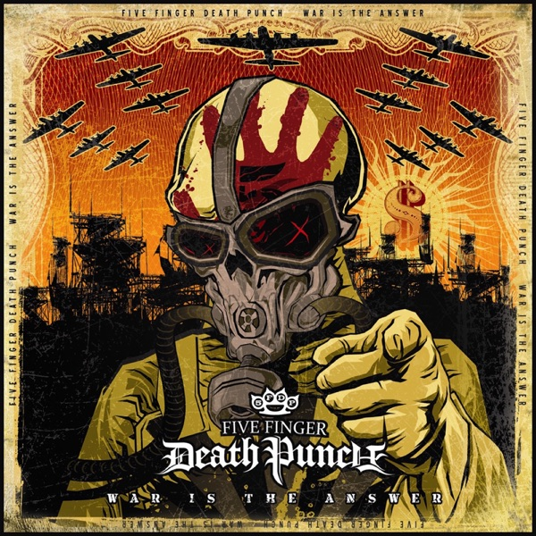 War is the Answer Five Finger Death Punch CD cover