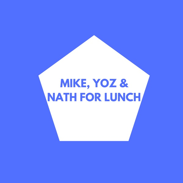 Mike, Yoz & Nath for Lunch