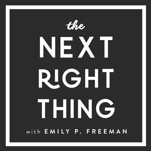 Image result for the next right thing podcast