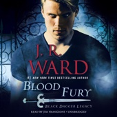 J. R. Ward - Blood Fury: Black Dagger Legacy, Book 3 (Unabridged)  artwork