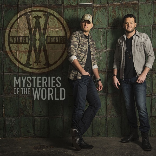 Mysteries of the World - Single Walker McGuire CD cover