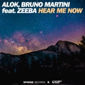 Alok & Bruno Martini - Hear Me Now (feat. Zeeba) illustration