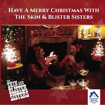 Have a Merry Christmas with the Skin & Blister Sisters – The Skin & Blister Sisters