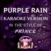 Purple Rain (In the Style of Prince) [Karaoke Version]