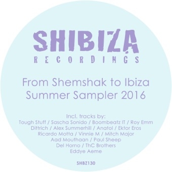 From Shemshak to Ibiza, Summer Sampler 2016 – Various Artists