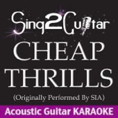 Cheap Thrills (Originally Performed by Sia) [Acoustic Guitar Karaoke]