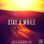 Dimitri Vegas & Like Mike - Stay a While artwork