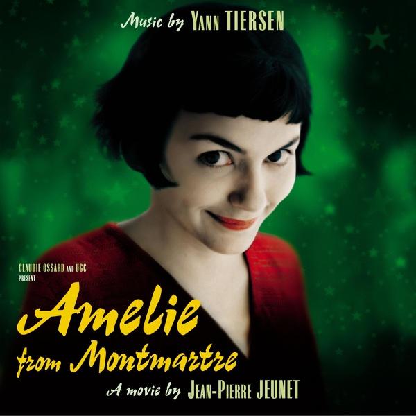Amelie from Montmartre Original Soundtrack Yann Tiersen CD cover