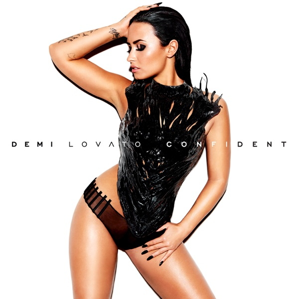 Confident Demi Lovato CD cover