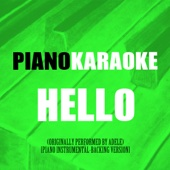 Hello (Originally Performed by Adele) [Piano Instrumental-Backing Version]
