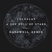 A Sky Full of Stars (Hardwell Remix) - Single cover art